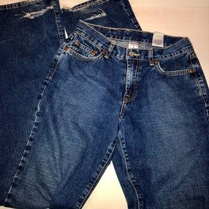 LUCKY BRAND distressed jeans in size 4 / 27